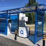 Hämeenlinnan ensimmäinen kaasutankkausasema Paroistentiellä vihittiin käyttöön