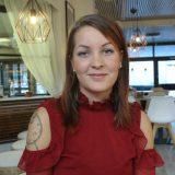 RAVINTOLAT: Amanda Haapanen iloitsee hyvästä asiakaspalautteesta