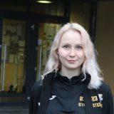 Steelers-kapteeni Meri Jokinen on terveydenhoitajaksi opiskeleva joukkuepelaaja
