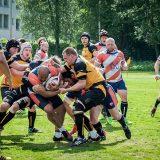 Linna Rugbylle vieraita Porvoosta