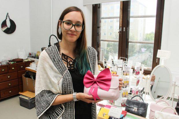 Yksi Cobblerinan edelleen tuotannossa olevista laukkumalleista on Sanna Niskasen ensimmäisiä suunnittelutöitä jo opiskeluvuosilta.