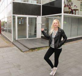 Tämä on meidän liiketila, totesi Anni Almi heti ensimmäisellä käynnillään entisissä K-Kengän tiloissa.