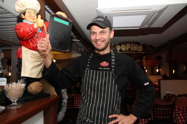 Popinon keittiöpäällikkö Petrin Lindholm paukuttaa koko henkilökunnalle. Uusi haaste on street food -tyylinen kesäravintola Linnankadun ylätasolle.
