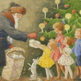 Rudolf Koivun joulu -näyttelyssä vietetään lasten lauantaita