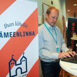 Hämeenlinna esittäytyi microsoftilaisille Espoossa
