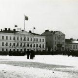 Skogsterilla luento venäläisten vallitustöistä Hämeenlinnassa