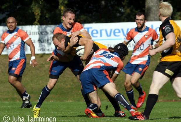 Linna Rugbyn ilmaisten alkeistreenien aikana pyritään löytämään seuran naisten ja miesten joukkueisiin uusia pelaajia.