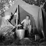 Militaria tuo telttasaunan Linnankasarmille