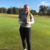 Oona Kuroselle golfin SM-pronssia