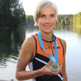 Hiihtäjästä triathlonistiksi: Jenni Mattilan kausi huipentui Tahkon täysmatkaan