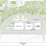 Uuden keskussairaalan suunnitelmat sisältävät nyt neljä erillistä rakennusta