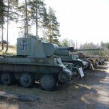 Huippuartistit konsertoivat vanhojen panssarivaunujen puolesta