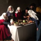 Hämeen linnassa keskiaikaista ruokaa