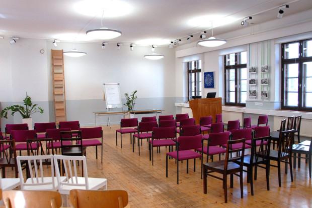 Wetterhoffin talon kakkoskerroksessa on oivat kokoustilat keskellä kaupunkia.
