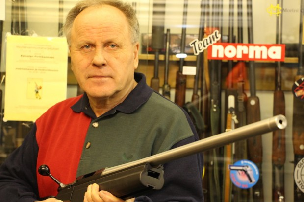 Sako TRG ?kivääri edustaa kotimaisen asetuotannon huippua.