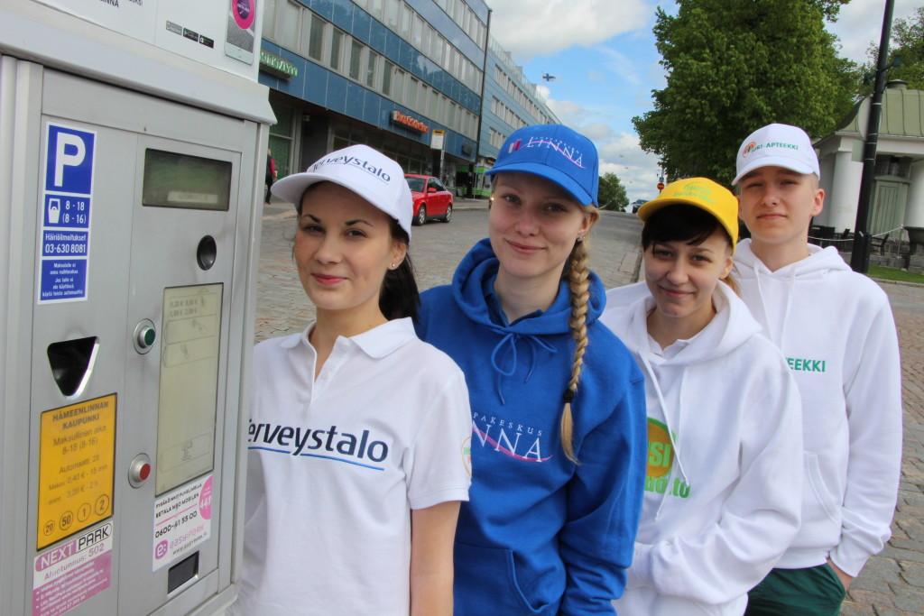 Parkkiperhoset taas Hämeenlinnan kesäkaduille - Reska.fi