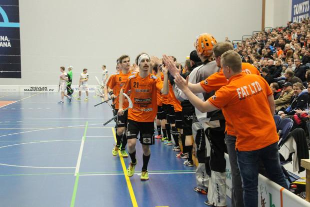 Ratkaisijat. Kokemus oli valttia, osoittivat LaSBin tehomiehet Tino Nivala (21) ja Heikki Hätönen.