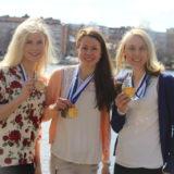 MENESTYJÄT: Maija Hakala ja Laura Mononen tähtäävät MM-hiihtoihin