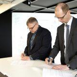 Sopimus Ahveniston sairaalan kaukolämmöstä allekirjoitettiin