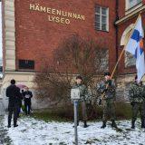 J. K. Paasikiveä muistettiin vuodenvaihteessa Hämeenlinnan lyseolla