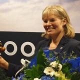 Hämeenlinnan kokoomus tukee Miia Antinin uudelleenvalintaa piirin puheenjohtajaksi